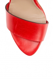 Noe | Leren sandalen Nabila | rood  | Afbeelding 5