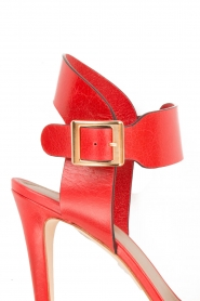 Noe | Leren sandalen Nabila | rood  | Afbeelding 6