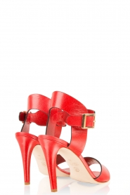 Noe | Leren sandalen Nabila | rood  | Afbeelding 4