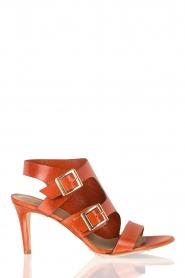 Noe | Leren sandalen Numa | roest  | Afbeelding 1