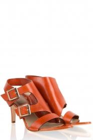 Noe | Leren sandalen Numa | roest  | Afbeelding 3