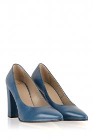 Noe | Leren pumps Norva | blauw  | Afbeelding 3