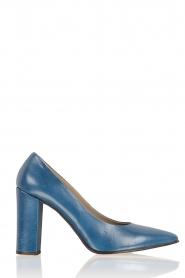 Noe | Leren pumps Norva | blauw  | Afbeelding 1