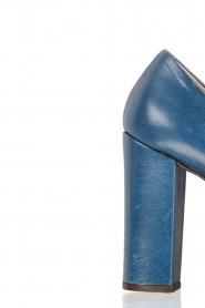 Noe | Leren pumps Norva | blauw  | Afbeelding 5