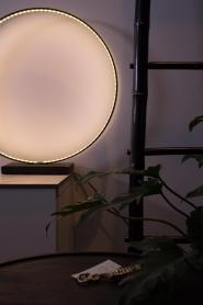 Little Soho Living |  Round lamp Moon | black  | Picture 2