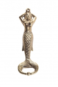 Little Soho Living |  Luxurious bottle opener Mermaid | gold  | Picture 1