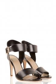 Noe | Leren sandalen Nabila | zwart  | Afbeelding 3