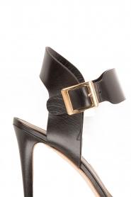 Noe | Leren sandalen Nabila | zwart  | Afbeelding 6