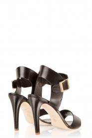 Noe | Leren sandalen Nabila | zwart  | Afbeelding 4