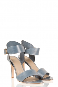 Leather sandals Nabila | blue