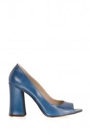Noe | Leren pump Nicla | blauw  | Afbeelding 1