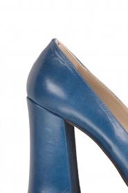 Noe | Leren pump Nicla | blauw  | Afbeelding 6