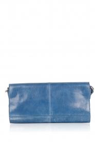Noe | Leren clutch Nia | blauw  | Afbeelding 4