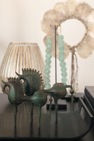 Little Soho Living | Paard van Troje Aidan - large | groen  | Afbeelding 2