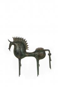 Little Soho Living | Paard van Troje Aidan - large | groen  | Afbeelding 1