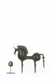 Little Soho Living |  Troyan horse Aidan - large | green  | Picture 3