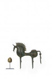 Little Soho Living | Paard van Troje Aidan - large | groen  | Afbeelding 3
