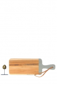 Little Soho Living |  Wooden cutting board Vince | grey  | Picture 4