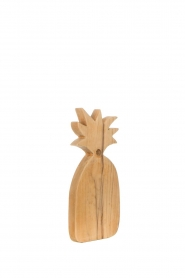Little Soho Living |  Wooden cutting board Pineapple - large | brown  | Picture 3