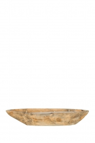 Little Soho Living |  Wooden float candle with 4 fuses Riley | brown  | Picture 1
