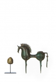 Little Soho Living |  Troyan horse Shane - small | green  | Picture 3