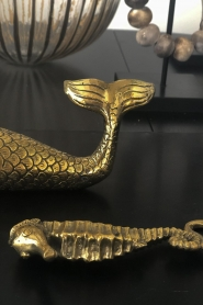 Little Soho Living |  Luxurious sea horse bottle opener River | gold  | Picture 3