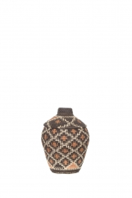Little Soho Living |  Printed rattan basket Ruby - small | multi  | Picture 1
