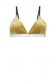 Melt |  Bikini top Velvet | gold  | Picture 1