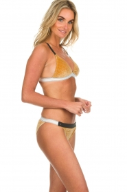 Melt |  Bikini top Velvet | gold  | Picture 3