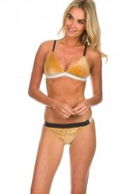Melt |  Bikini top Velvet | gold  | Picture 2