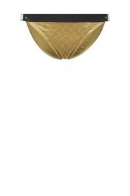 Melt |  Bikini bottom Velvet | gold  | Picture 1