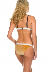 Melt | Bikini broekje Velvet | goud  | Afbeelding 4