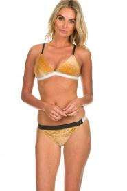 Melt | Bikini broekje Velvet | goud  | Afbeelding 2