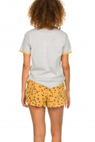 Melt |  Short with print Leopard | yellow  | Picture 5