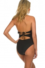 Melt |  Swimsuit with print Nomad | black  | Picture 4
