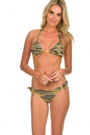 Melt |  Bikini top with animal print Zebra | animal  | Picture 2