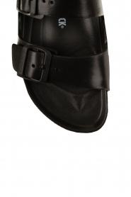 Water-resistant wellness sandaal Arizona | zwart