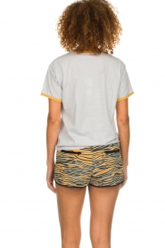 Melt |  Sportive short with zebra print Amber | animal print  | Picture 6
