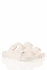Birkenstock | Water-resistant wellness sandaal Arizona | wit   | Afbeelding 3