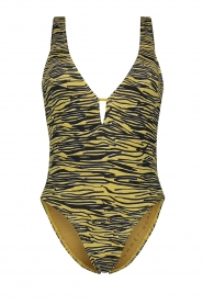 Melt |  Bathing suit with animal print Zebra | animal  | Picture 1