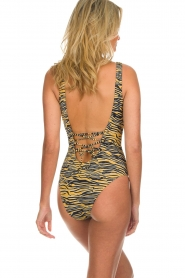 Melt |  Bathing suit with animal print Zebra | animal  | Picture 4