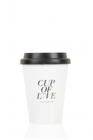 Little Soho | Cup of Love | wit  | Afbeelding 1