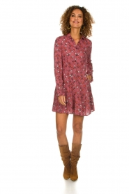 Melt |  Blouse dress Star | pink  | Picture 3