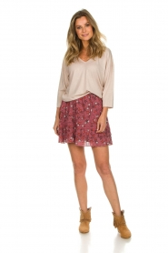 Melt | Rok met ruches Lilly | roze  | Afbeelding 3