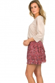 Melt | Rok met ruches Lilly | roze  | Afbeelding 4