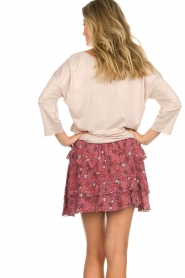 Melt |  Skirt with ruches Lilly | pink  | Picture 5