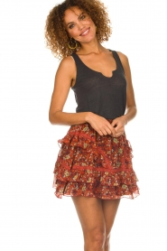 Melt |  Skirt with ruffles Melly | multi  | Picture 4