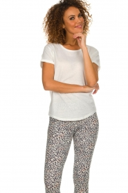 Melt    T-shirt with print Kiss Me   white    Picture 4