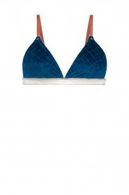 Melt |  Bikini top Velvet | blue  | Picture 1