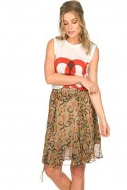 Munthe | Skirt Chloe | beige  | Picture 4